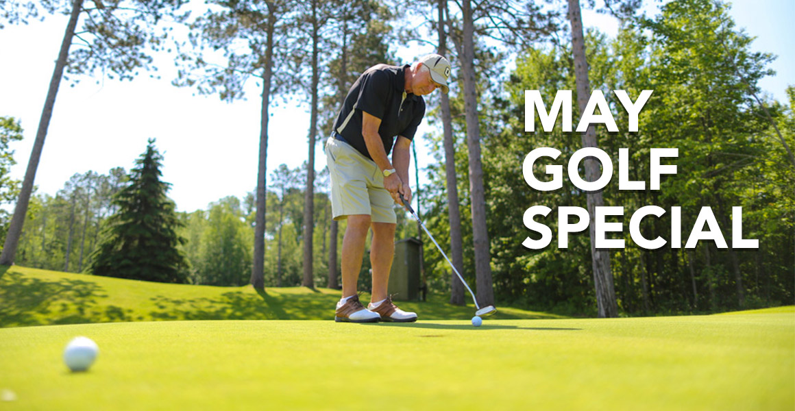 Our Newest Golf Package, 'May Golf Special', has a Special Inclusion: Find Out What It Is