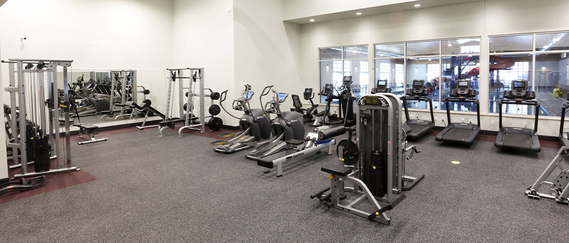 northpark fitness room