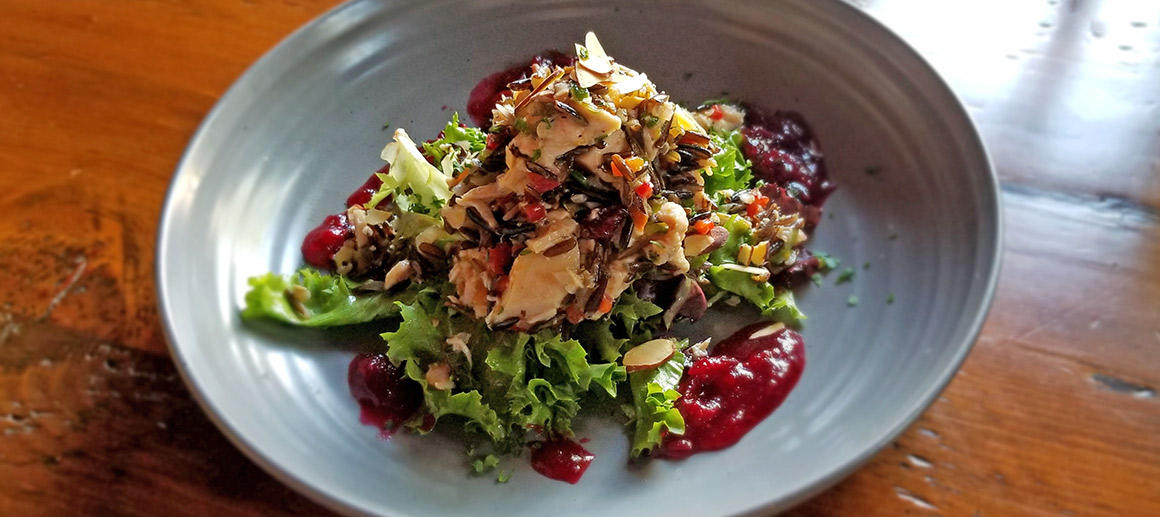 What's Cookin' at Grand View Lodge: Smoked Chicken and Wild Rice Salad