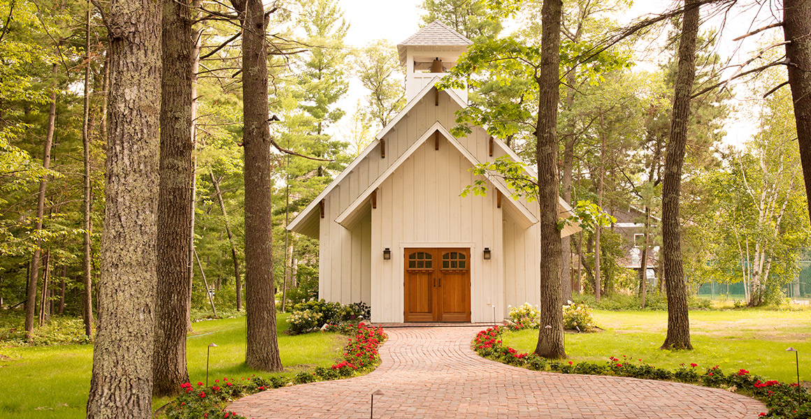 Introducing a new wedding venue: The wedding chapel