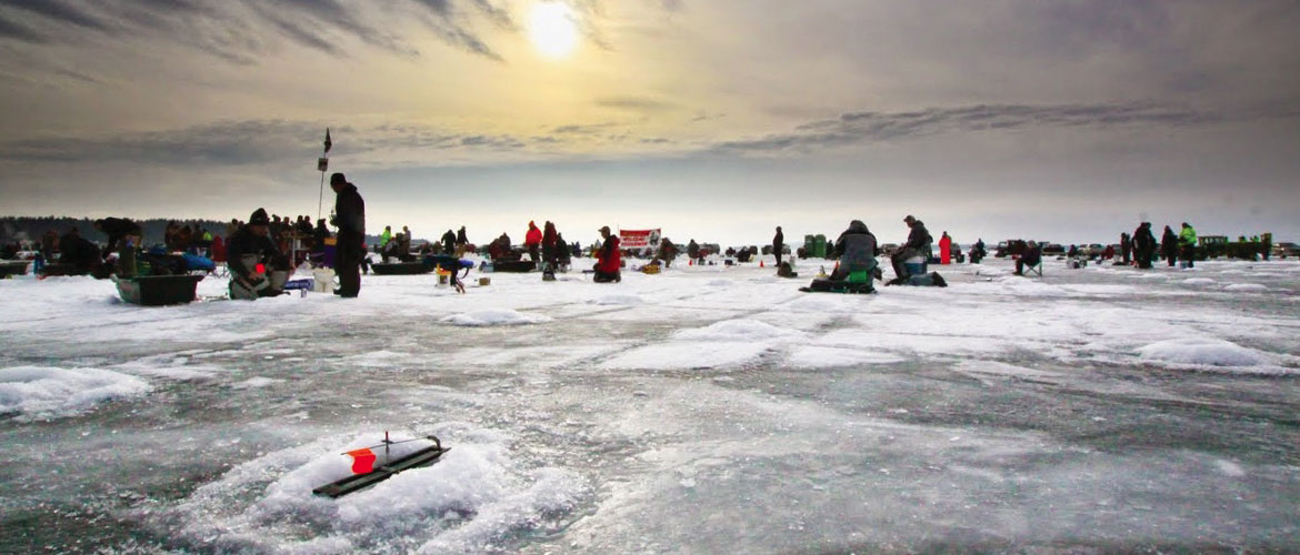 Ice Fishing for Local Charities