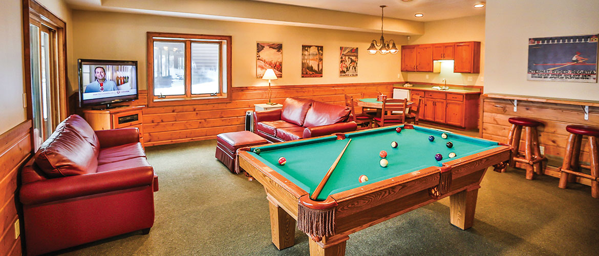 Roy Villa Game Room